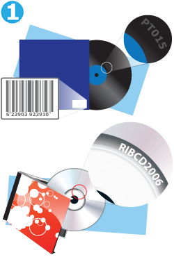 Sell your vinyl records and CDs by barcode or catalogue number