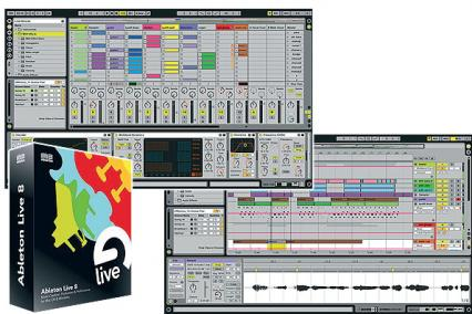 ABLETON LIVE UPGRADE - LIVE 8 UPGRADE FROM INTRO + 10 FREE SOUND PACK