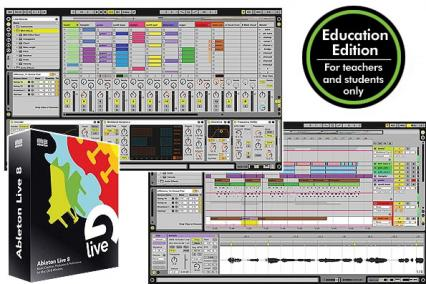 ABLETON LIVE 8 EDUCATIONAL - MUSIC PRODUCTION & DJ PERFORMANCE SOFTWARE
