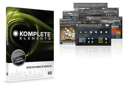 NATIVE INSTRUMENTS KOMPLETE ELEMENTS - MUSIC PRODUCTION SOFTWARE BUNDLE