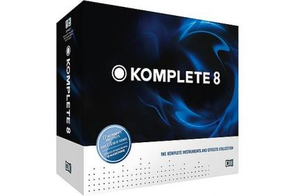NATIVE INSTRUMENTS KOMPLETE 8 - UPDATE FROM KOMPLETE 2 TO 8