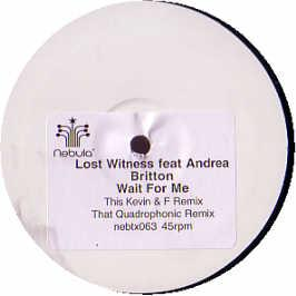 LOST WITNESS FEAT ANDREA BRITTON - WAIT FOR ME