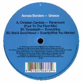 AUDIO THERAPY PRESENTS - ACROSS BORDERS - GREECE (ALBUM SAMPLER 1)