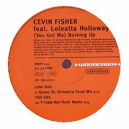 CEVIN FISHER - BURNIN UP