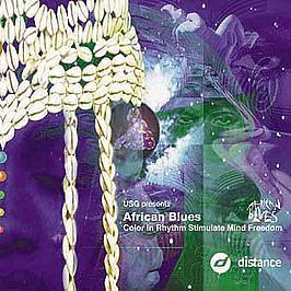 USG PRESENTS AFRICAN BLUES - COLOR IN RHYTHM STIMULATE MIND FREEDOM