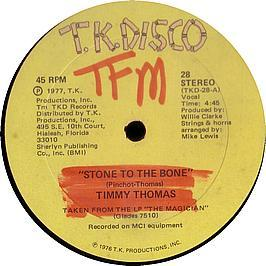 TIMMY THOMAS - STONE TO THE BONE
