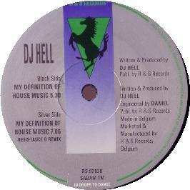 DJ HELL - MY DEFINITION OF HOUSE MUSIC