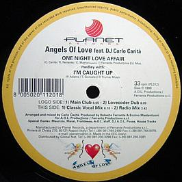 One Night Love Affair - Angels Of Love Feat DJ Carlo C