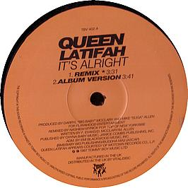 Queen Latifah - It's Alright Record