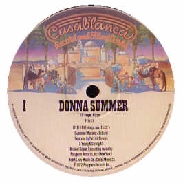 DONNA SUMMER - I FEEL LOVE (PATRICK COWLEY 15 MIN MIX)
