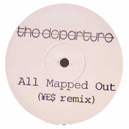 The Departure - All Mapped Out - Parlophone #160105