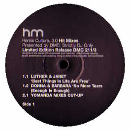 Luther Vandross & Janet Jackson - Best Things In Life Are Free (dmc Remix)