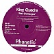 KING QUADRA - PINK CHAMPAGNE - PHONETIC 11 - VINYL RECORD - MR142432