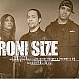 RONI SIZE FT BEVERLY KNIGHT - NO MORE / TRUST ME (VIP MIX) - V RECORDINGS UK 3X - VINYL RECORD - MR147908
