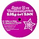ALEX K VS VOODOOLOVER - BABY GOT BACK - YOUTH CLUB 10 - VINYL RECORD - MR151411