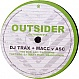 DJ TRAX & MACC VS ASC - DRAGO'S PATH / TRADE WIND - OUTSIDER 14 - VINYL RECORD - MR193805