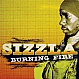 SIZZLA - BURNING FIRE - PENITENTIARY RECORDS - VINYL RECORD - MR229613