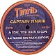 CAPTAIN TINRIB - COKE, COS I LEARN 2 COPE - TINRIB 24 - VINYL RECORD - MR24176