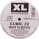 CUBIC 22 - NIGHT IN MOTION - XL - VINYL RECORD - MR330