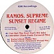 RAMOS SUPREME & SUNSET REGIME - I'VE GOT THE REAL FEEL (1994 REMIX) - RSR RECORDINGS 1 - VINYL RECORD - MR331015