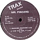 MR FINGERS - CAN U FEEL IT / WASHING MACHINE - TRAX 127 - VINYL RECORD - MR3366