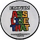 EMINEM - ASS LIKE THAT (PICTURE DISC) - SHADY RECORDS - VINYL RECORD - MR340315