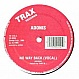ADONIS - NO WAY BACK - TRAX 112 - VINYL RECORD - MR4893