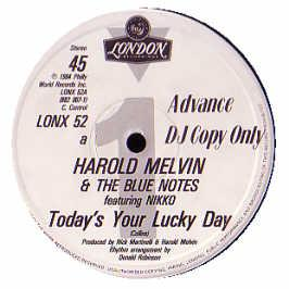Harold Melvin & The Bluenotes - Today's Your Lucky Day