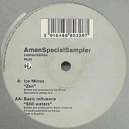Ice Minus / Basic Influence - Amen Special Sampler