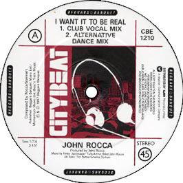 John Rocca - I Want It To Be Real
