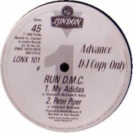 Run Dmc - My Adidas / Peter Piper