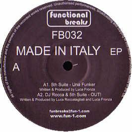 DJ Rocca & Fifth Suite - Made In Italy EP