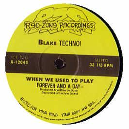 Blake Baxter - When We Used To Play / Sexuality