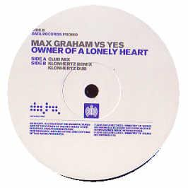 Max Graham - Owner Of A Lonely Heart (Disc 1)