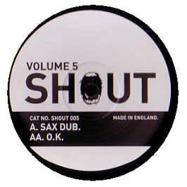 Shout - Sax Track