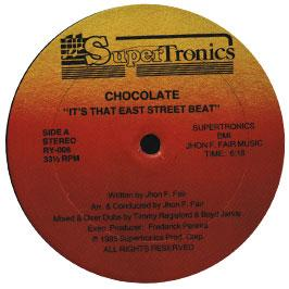 Chocolette - It's That East Street Beat