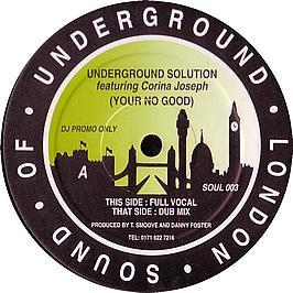 Underground Solution - You'Re No Good
