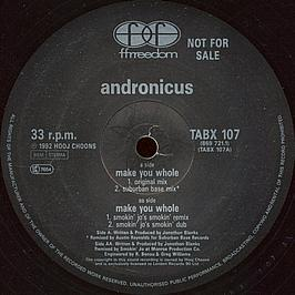 Andronicus - Make You Whole
