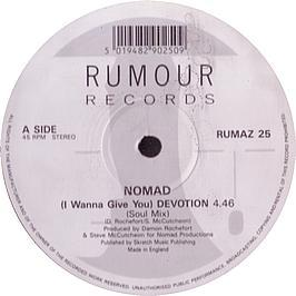 Nomad - I Wanna Give You Devotion (Remix)