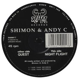 Andy C & Shimon - Quest / Night Flight