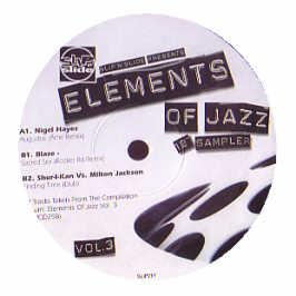 various artists - Elements Of Jazz Volume 3 (Sampler)