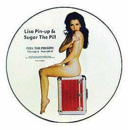 Lisa Pin-Up & Sugar The Pill - Feel The Poison (Picture Disc)