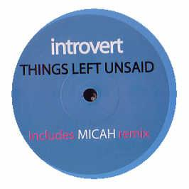 Introvert - Things Left Unsaid