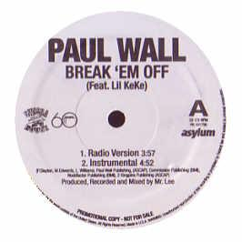 Paul Wall Feat. Lil Keke - Break 'Em Off