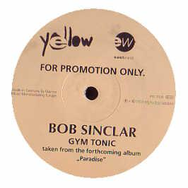 Bob Sinclar - Gym Tonic (Original Promo)