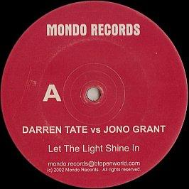 Darren Tate Vs Jono Grant - Let The Light Shine In