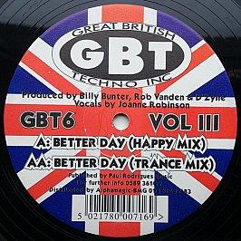 Billy Bunter / D-Zyne Vs Rob Vandem - Better Day (Volume Iii)