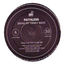 Faithless - Bring My Family Back (Van Dyk)
