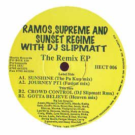 Ramos Supreme & Sunset Regim - The Remix EP