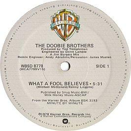 Doobie Brothers - What A Fool Believes